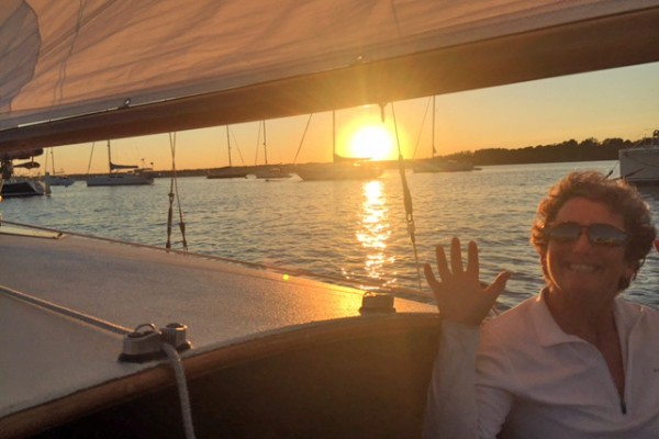 sunset sail on Matsya
