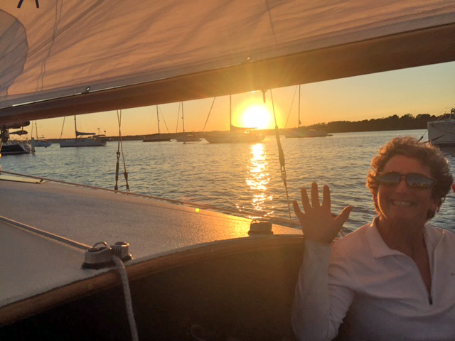 sunset sail on Matsya