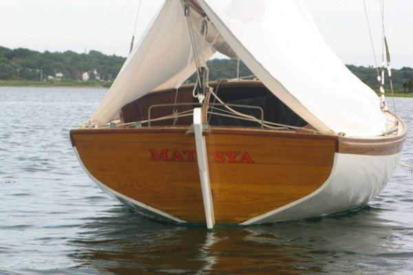 Matsya Herreshoff Marlin transom