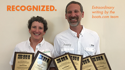 Carol Cronin and Lenny Rudow win BWI awards