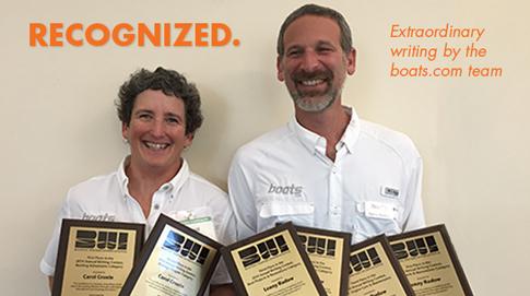 Carol Cronin and Lenny Rudow win BWI awards