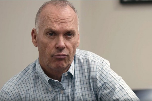 "Michael Keaton as Walter ""Robby"" Robinson in Spotlight"