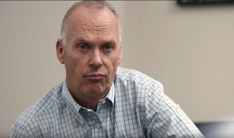 "Michael Keaton as Walter ""Robby"" Robinson in Spotlight"