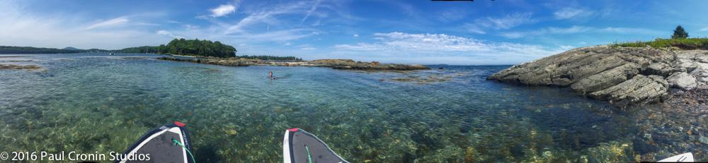 Island swimming hole Maine courtesy Paul Cronin Studios