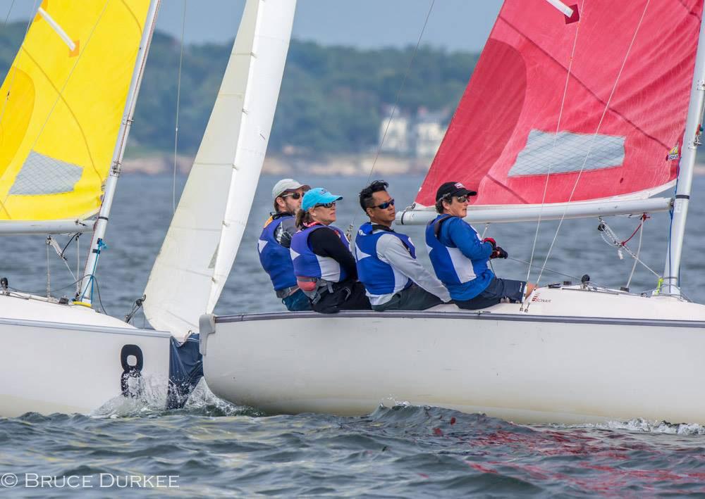 ©Bruce Durfee Hood Trophy Corinthian Yacht Club Team Race 2V2