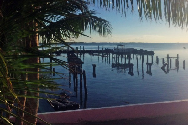 Royal Nassau Sailing Club docks after Hurricane Matthew