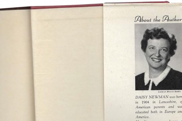 Daisy Newman novelist