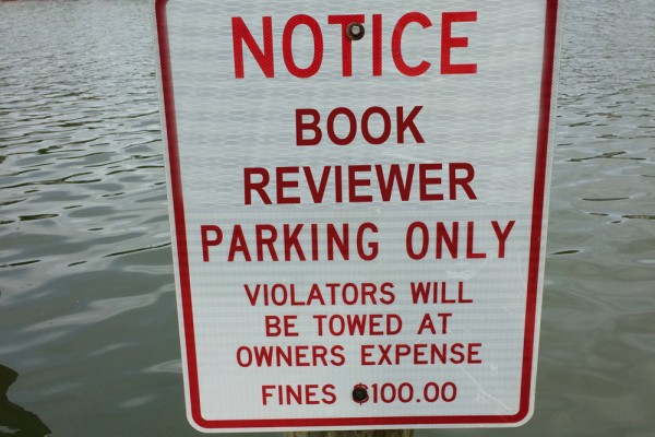book reviewer parking only