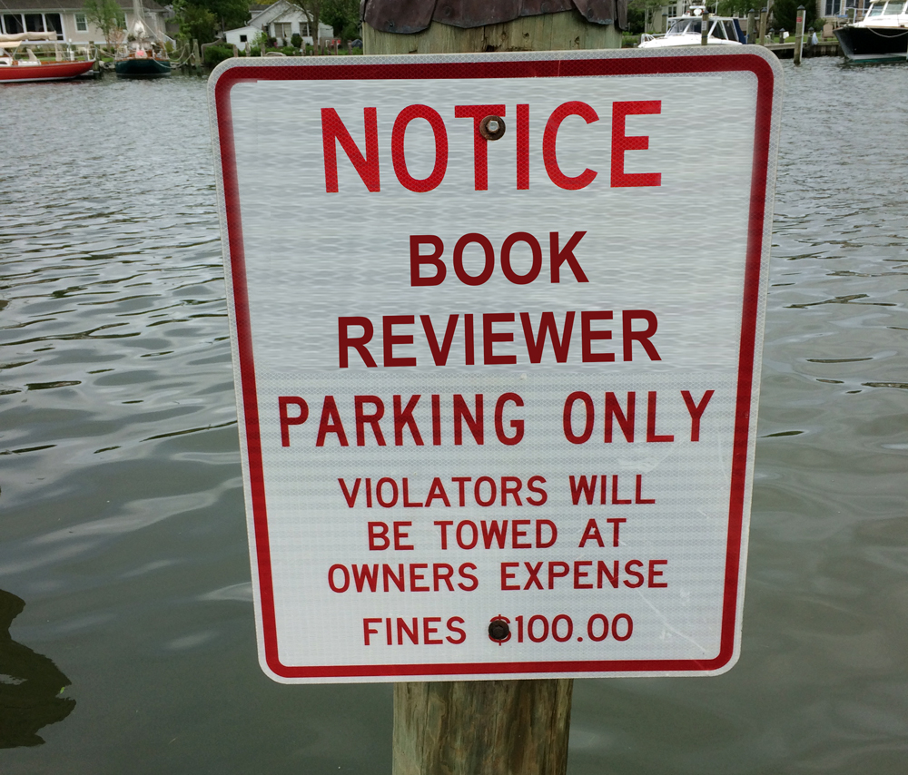 book reviewer parking