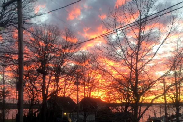 december 2016 sunset