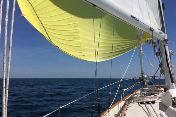 Katrina sailing to Maine 2016