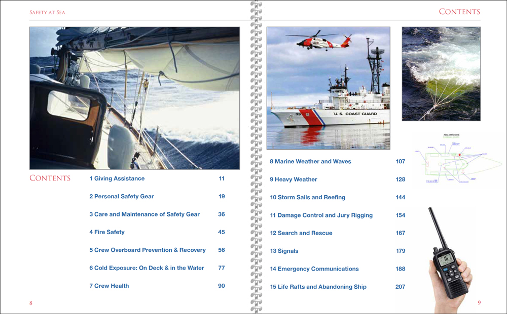 Safety at Sea Table of Contents