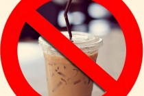 say no to iced coffee go cup