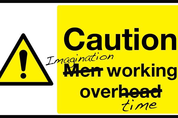 imagination working overtime