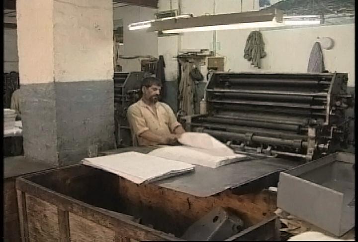 book press operator