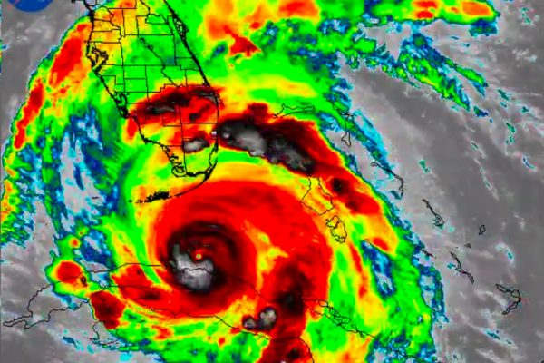 Irma satellite image