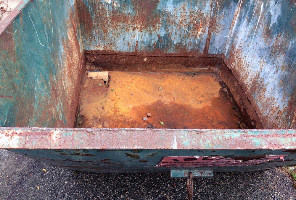 Island Rubbish Service dumpster 2017