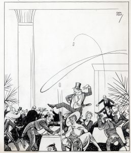 New Year's 1917 Irwin cartoon