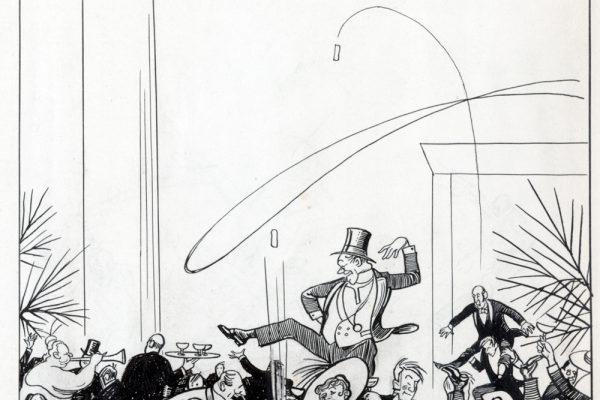 New Year's 1917 Irwin cartoon