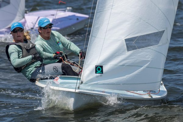 Snipe sailing Colonial Cup 2017 Photo Ted Morgan