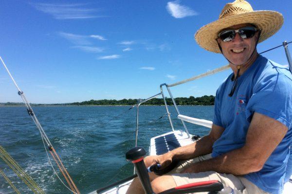 Paul Cronin sailing