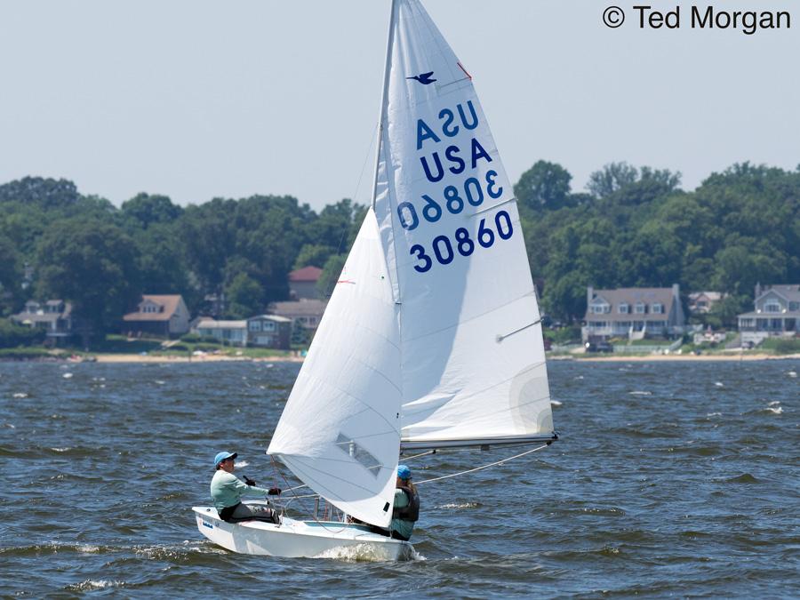 Snipe sailing annapolis 2017