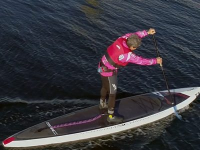 paddling SIC photo from drone Paul Cronin Studios