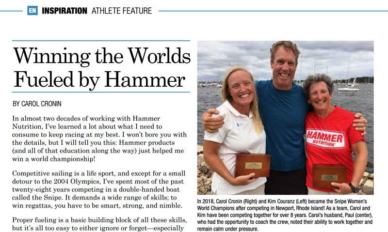 Hammer Endurance News winning world championship