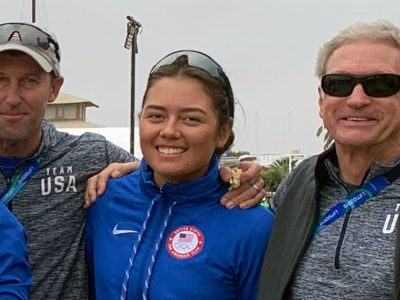 Malcolm Page Charlotte Rose Greg Fisher Pan Am Games 2019