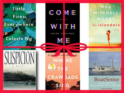 Holiday book list 2019 #coastalfiction