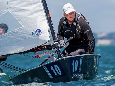 Rod Davis OK Dinghy Worlds 2019