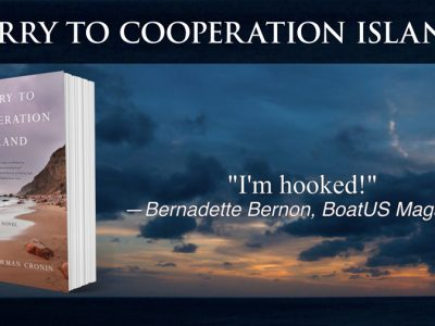 book trailer for Ferry to Cooperation Island