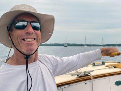 Sailing on Narragansett Bay August 2021